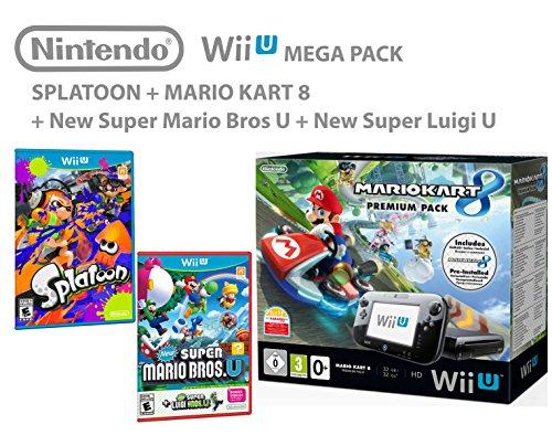 Nintendo-Wii-U-consola-Premium-Pack-32GB-Mario-Kart-8-Splatoon-Super-Mario-Luigi