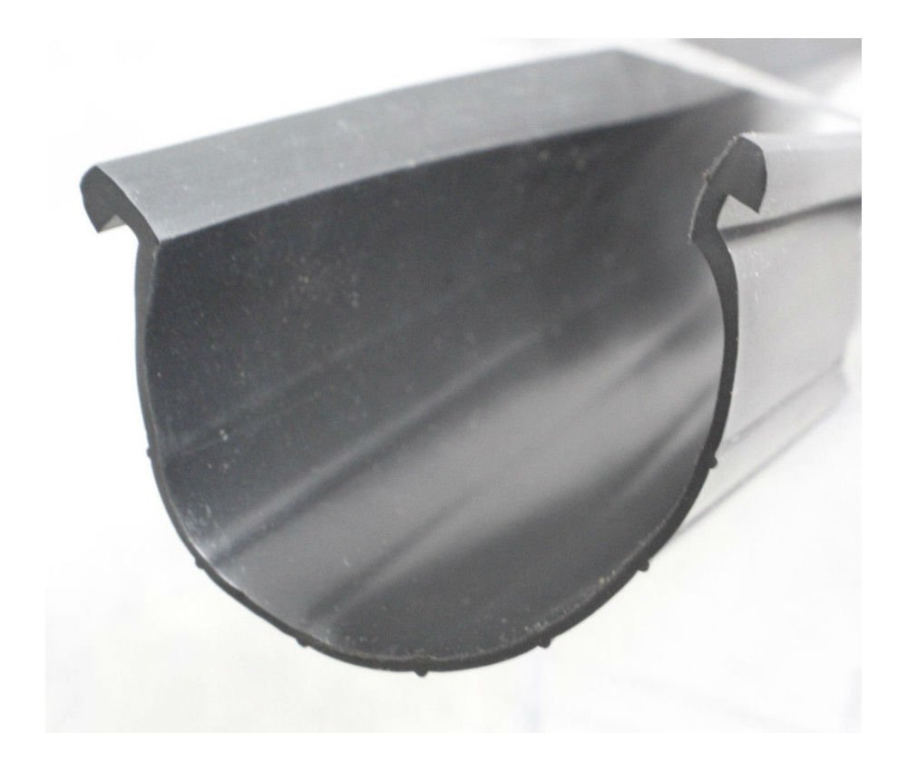 Garage Door Bottom Rubber Weather Seal 18'