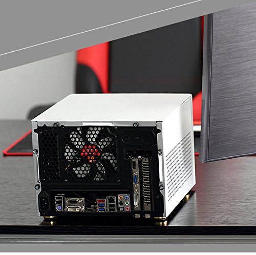 GOLDEN FIELD N-2S Mini Cube ITX PC Computer Case Aluminium