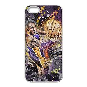 Los Angeles Lakers NBA White Phone Case for iPhone 5S Case