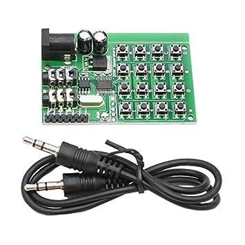 Teclado Dtmf Módulo generador Transmisor de codificador de ...
