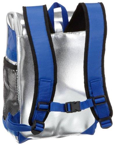Be Cool Kühltasche - Rucksack, silber/blau 9,5 l