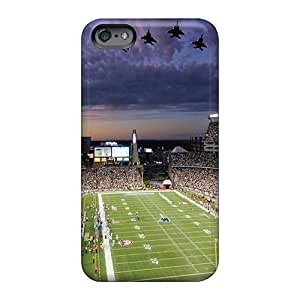 Apple Iphone 6 Plus VKI27308GHOw Allow Personal Design Trendy New England Patriots Pictures Protective Hard Phone Cover -TimeaJoyce