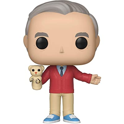 Funko Pop! Movies: A Beautiful Day in The Neighborhood - Mr. Rogers: Toys & Games [5Bkhe0700774]