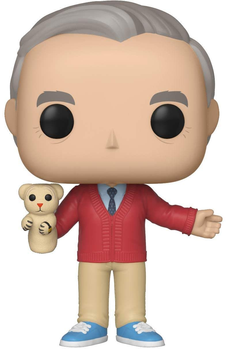 Funko Pop! Movies: A Beautiful Day in The Neighborhood – Mr. Rogers,Multicolor,3.75 inches
