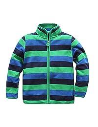 Baby Little Boys Girls Spring Autumn Fleece Jacket Soft Windbreaker Coat Zipper Warm Outwear Outdoor Pullover Clothing
