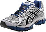 ASICS Men's GEL-Nimbus 13 Running Shoe,White/Black/Royal,12 M US