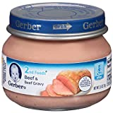 Gerber 2nd Foods Beef and Beef Gravy , 2.5 oz