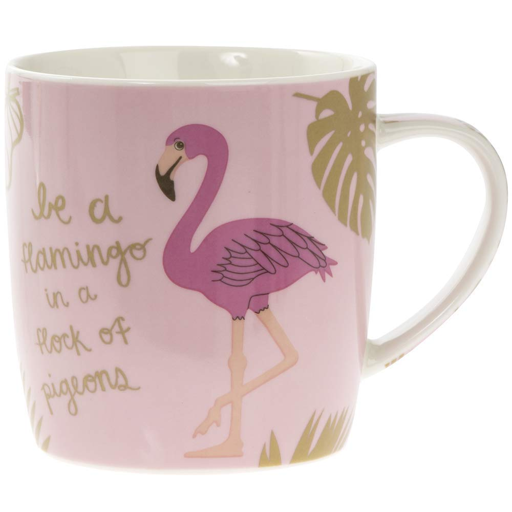 Be A Flamingo In A Flock Of Pigeons Mug Lesser and Pavey