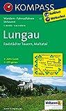Lungau - Radstädter Tauern - Maltatal: Wanderkarte mit Aktiv Guide, Radwegen und Skitouren. GPS-genau. 1:40000 (KOMPASS-Wanderkarten, Band 67)