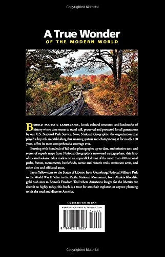 51IqDZCqmlL - National Geographic Complete National Parks of the United States, 2nd Edition: 400+ Parks, Monuments, Battlefields, Historic Sites, Scenic Trails, Recreation Areas, and Seashores