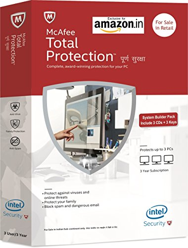 McAfee Total Protection 3 Users, 3 Years (CD)