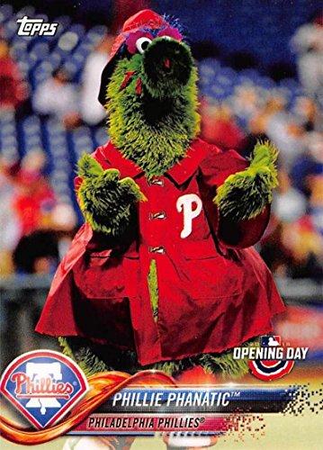 2018 Topps Opening Day Mascots #M-18 Phillie Phanatic Phillies Baseball MLB