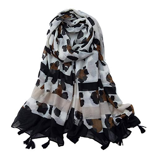 Women Cotton Long Scarf Scarves Summer Beach Shawls Thin Soft Head Scarves Woman's Wraps Autumn Tassels
