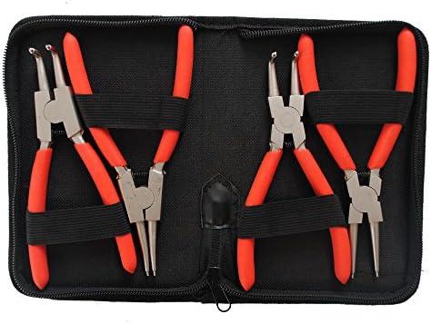 150 mm CCLIFE Set 4 Pinze Per Anelli Di Sicurezza