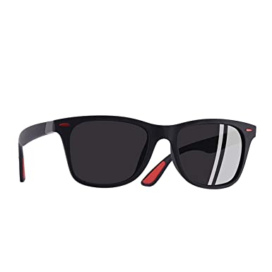 Amazon.com: Classic Polarized Sunglasses Men Women Driving ...