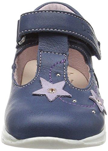 Däumling Eddie - Botas de senderismo Bebé-Niños Azul - Blau (Fortuna jeans42)