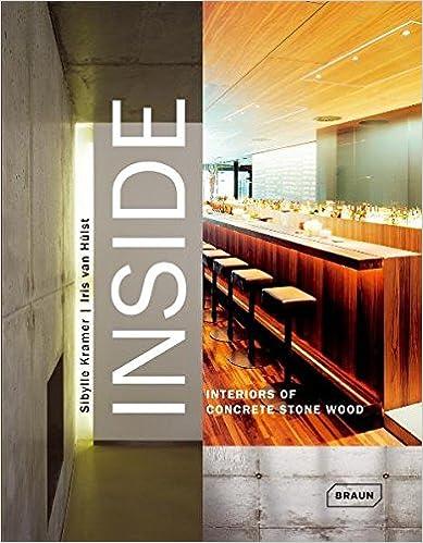 Book Inside: Interiors of Concrete Stone Wood