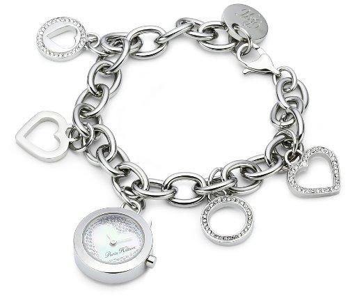 (Paris Hilton Women's PH.13106LS/28M Tinkerbell Charm Bracelet Watch)