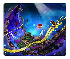 Decorative Mouse Pad Art Print Landscape and Plants Puppeteer Video Game