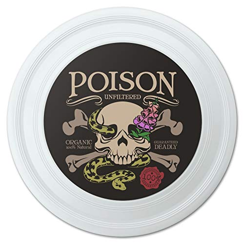 GRAPHICS & MORE Poison Skull and Crossbones with Snake Foxglove Novelty 9