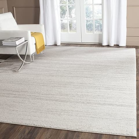 Safavieh Adirondack Collection ADR113B Ivory and Silver Modern Area Rug (8' x 10') (Area Rugs 8x10 Modern)