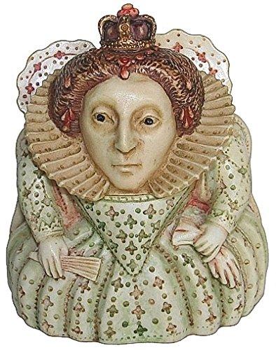 "Harmony Kingdom - Harmony Ball - Pot Bellys ""Queen Elizabeth I"" Figurine"