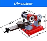 Techtongda Circular Saw Blade Grinder Sharpener Mill Grinding Sharpening Machine 110V