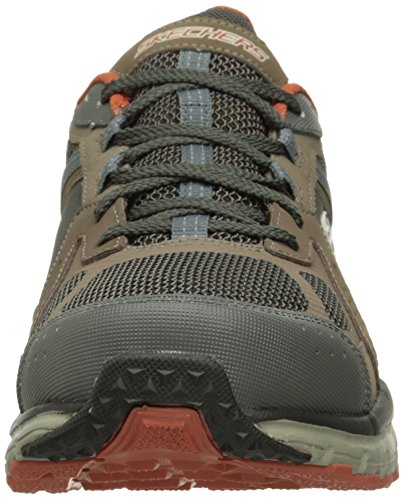 Skechers Sport Männer Geo Trek Sneaker Braun / Orange