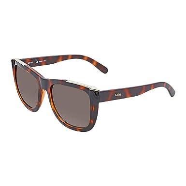 56371835a1ed Amazon.com  Chloe Sunglasses CE659S 219 Tortoise 55MM  Clothing