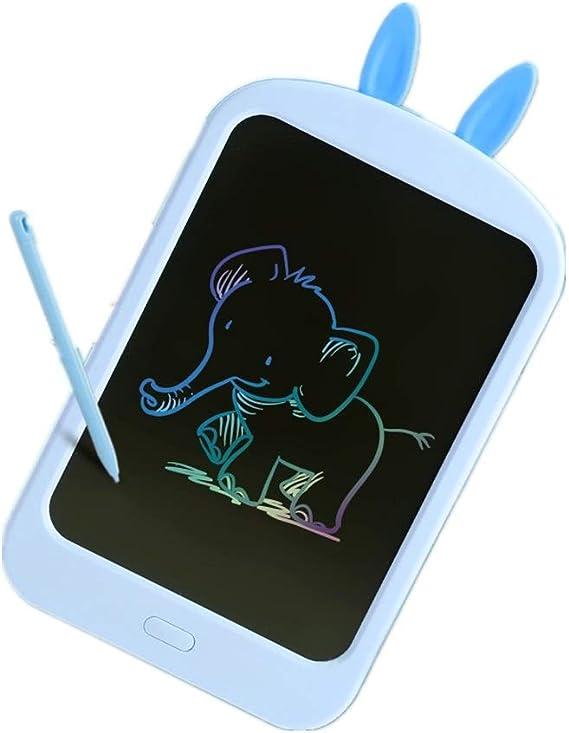多機能液晶手書きボード 放射線とグレアがなければ子供の手書きパッドグラフィティスマートLCDタブレット8.8インチの子供の手書きパッド 家庭やビジネスに適しています (色 : Blue, Size : 8.8 inches)
