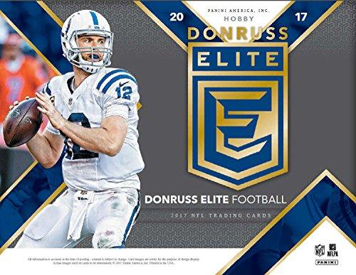 2017 Panini Donruss Elite Football Hobby Box (20 Packs of 5 Cards: 2 Autographs, 1 Memorabilia) from Donruss Elite
