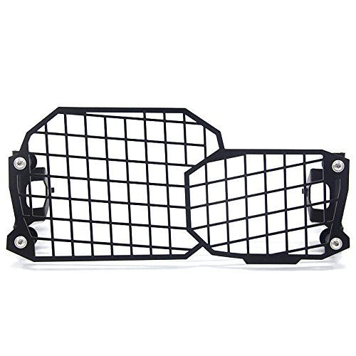 Black Headlight Headlamp Mesh Protector Guard Cover For BMW F650GS F700GS F800GS
