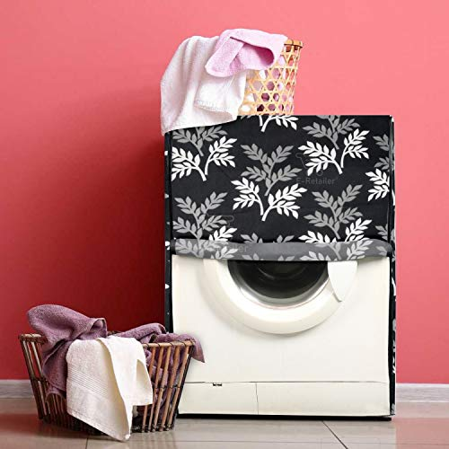 E-Retailer® Polyester Front Load Washing Machine Cover Suitable for 5KG to 8 KG (Black) 51IqGn9IB5L India 2021