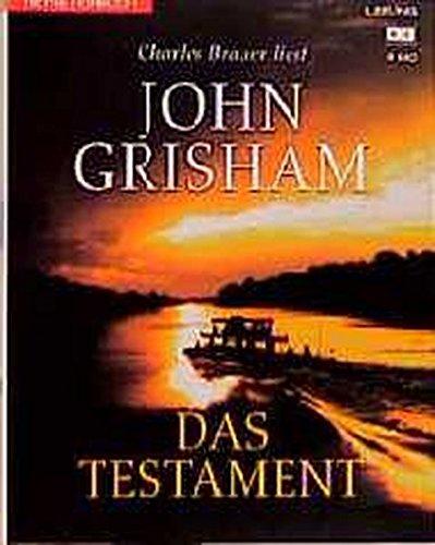 Das Testament (Hörbuch (26)) Hörkassette – 1. Februar 2000 John Grisham Charles Brauer Heyne Hörbuch Mchn.