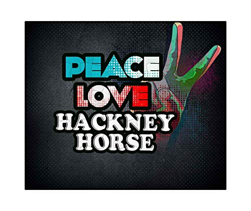 Used, Makoroni - Peace Love Hackney Horse - Jigsaw Puzzle, for sale  Delivered anywhere in USA