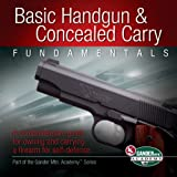 Basic Handgun & Concealed Carry Fundamentals: A Comprehensive Guide for Owning and Carrying a Firearm for Self-Defense