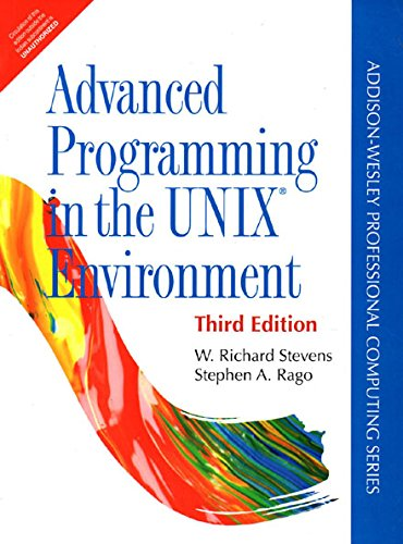 Advanced Programming In The Unix Environment, 3Rd Edn by Pearson India