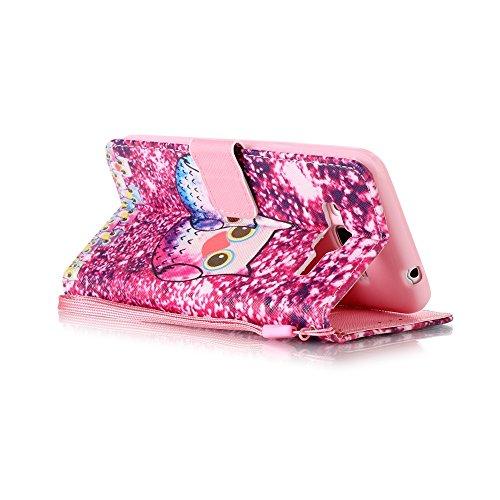 Funda Libro Galaxy J3 (2016 edicion) PU Leather Cuero Suave Case -Sunroyal ® [Anti-Scratch] Ultra Slim Flip Carcasa Cover, Cierre Magnético, Función de Soporte,Billetera con Tapa para Tarjetas Caja de A-14