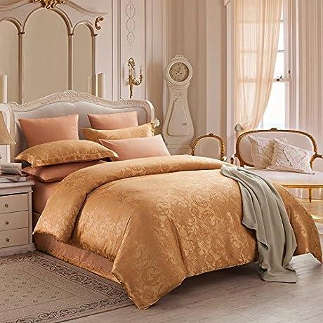 Collection Bedding Set Hypoallergenic Sheet Duvet Cover 4 Piece Comforter Set Pillow Case Set Queen