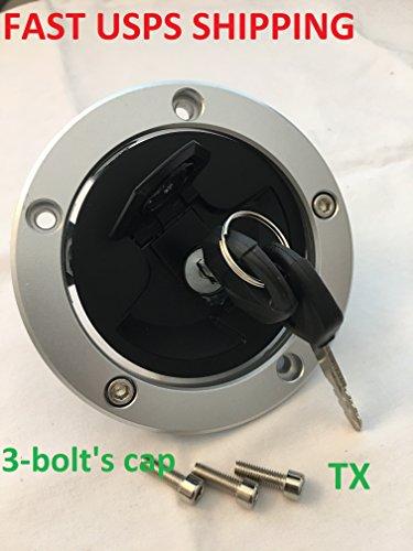 Fuel Gas Tank Locking Cap For Kawasaki Ninja 650 EX650 ER650 ER6N (2006-2015) ZX6R ZX 636 600 ABS (2007-2015) Z800 (2013-2014)