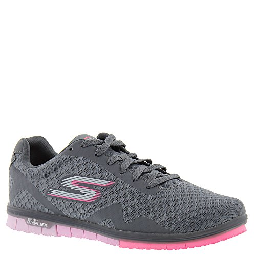 Skechers Performance Go Mini Flex-14006 Donna Sneaker Grigio Antracite