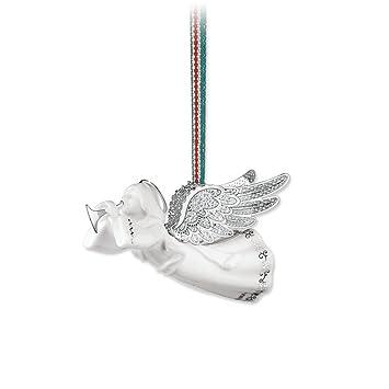 newbridge silverware christmas ceramic angel hanging ornament