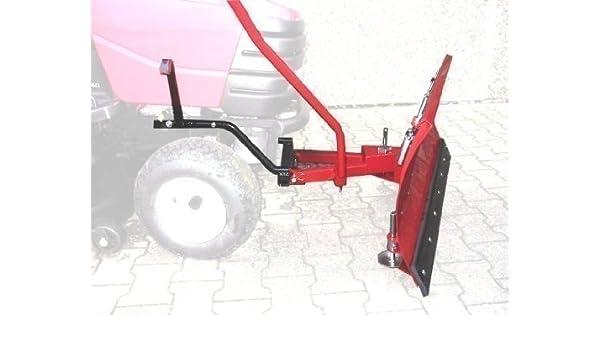Viking mt785 quitanieves (118 x 50 cm para tractor cortacésped ...