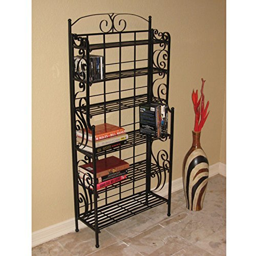 International Caravan 6-Shelf Folding Media Rack