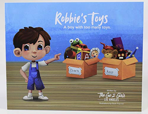 Robbie's Toys - A boy with too many toys