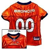 DENVER BRONCOS Dog Jersey ★ ALL SIZES ★ Licensed NFL (Medium)