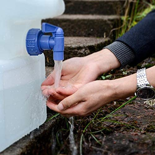 Fablcrew port/átil para Uso alimentario para Camping casa Coche con dep/ósito de Agua Exterior Jardinera de Acampada con Grifo de 5 L