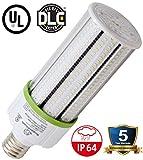 led 125 watt light bulbs - 60 Watt E39 LED Bulb - 8,115 Lumens - 5000K -Replacement for Fixtures HID/HPS/Metal Halide or CFL - High Efficiency 125 Lumen/ watt - 360 Degree Lighting - LED Corn Light Bulb
