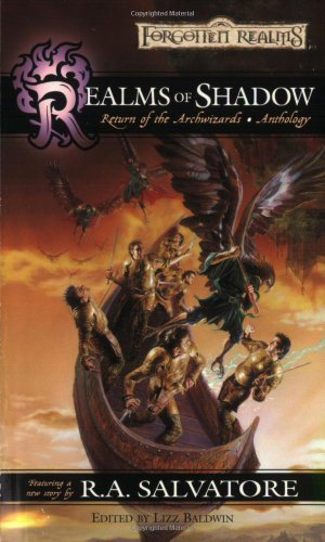 book cover of Realms of Shadow